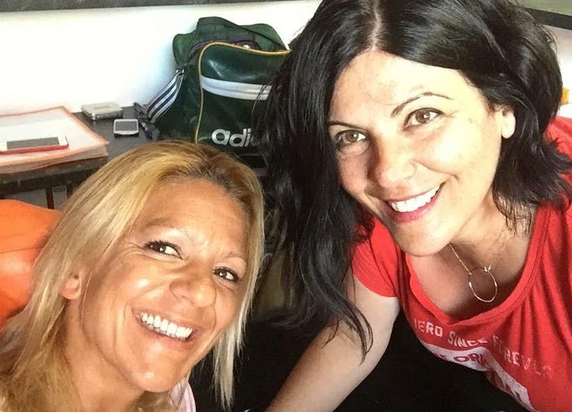Myriam y Natalia