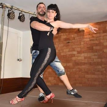 David Russo y Lorena
