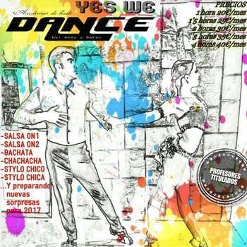 Andy y Saray - Yes We Dance