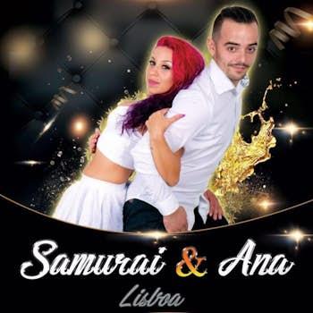 Paulo Samurai e Ana Oliveira