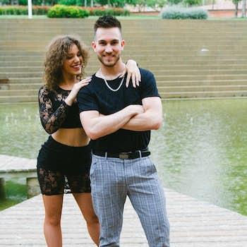 Adrián y Anna Bachata