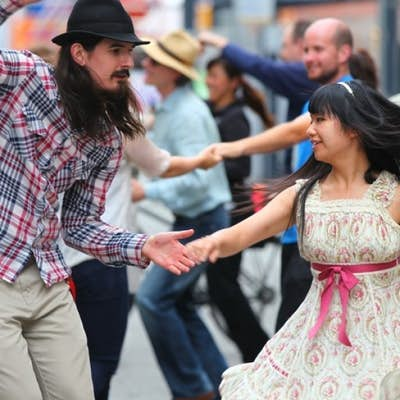 8 VERY famous songs for non-stop SWING dancing, right?