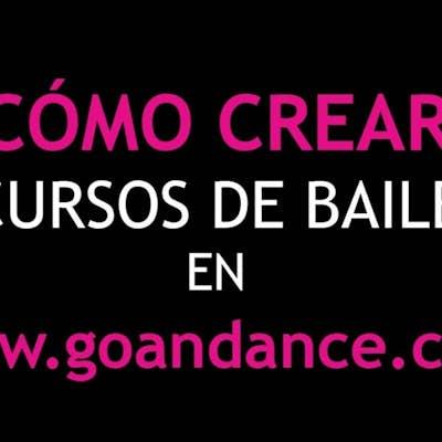 Cómo crear cursos de baile en go&dance