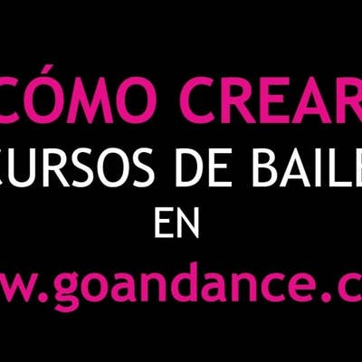 How to create dancing clases in go&dance