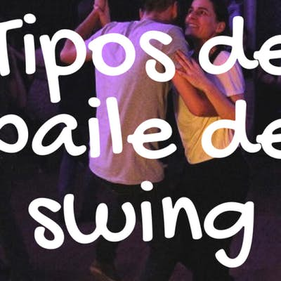 Types of Swing dancing, where to dance and where to learn