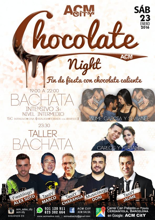 Chocolate night by ACM