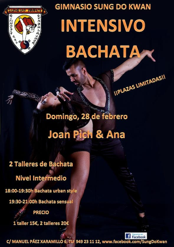 Bachata Intensive with con Joan Pich y Ana
