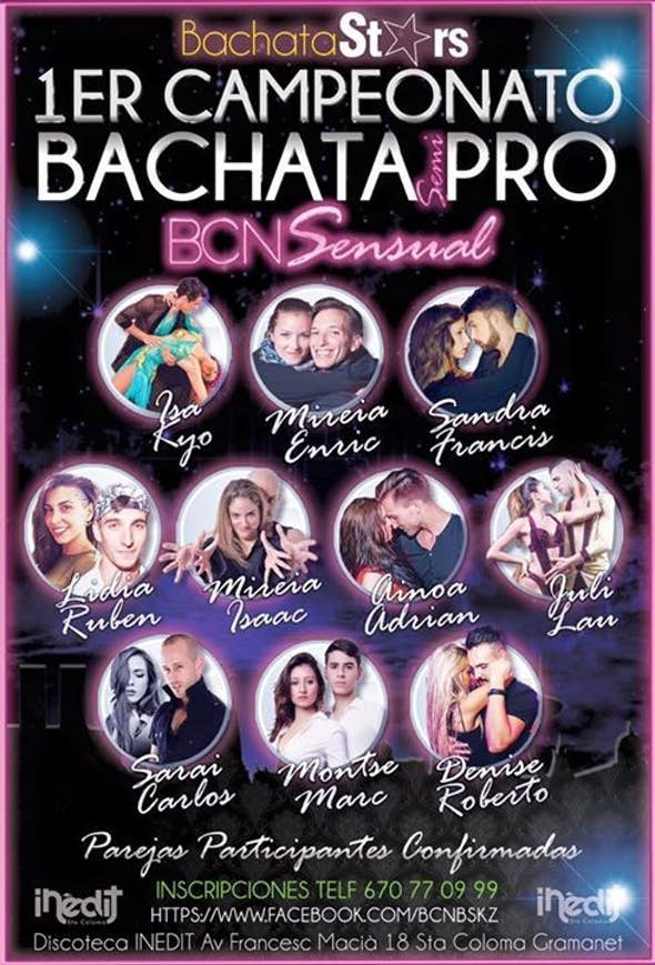 2nd ROUND COMPETITION BACHATA semi-PRO