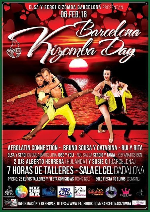 Barcelona KIZOMBA Day - AFROLATIN CONNECTION - 6th february