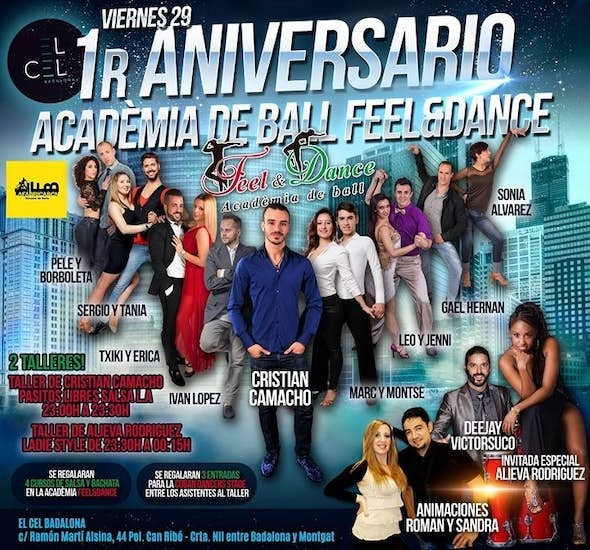 1er Anniversary of Dance Academy Feel&Dance