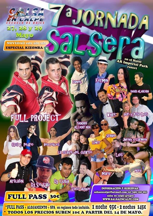 7ª Jornada Salsera en Calpe 2016