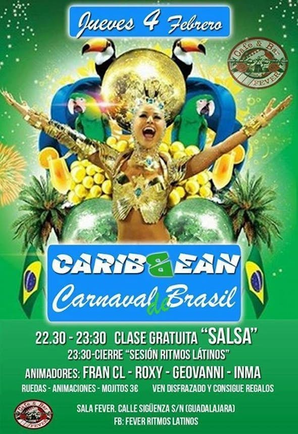 Carnaval Party of Latin Rythms