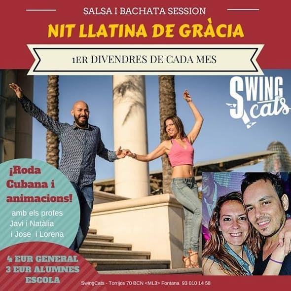 NIT LLATINA DE GRÀCIA - Salsa & Bachata Session