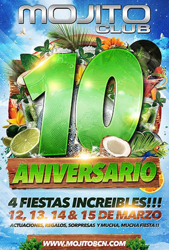 10º Aniversario de Mojito Club