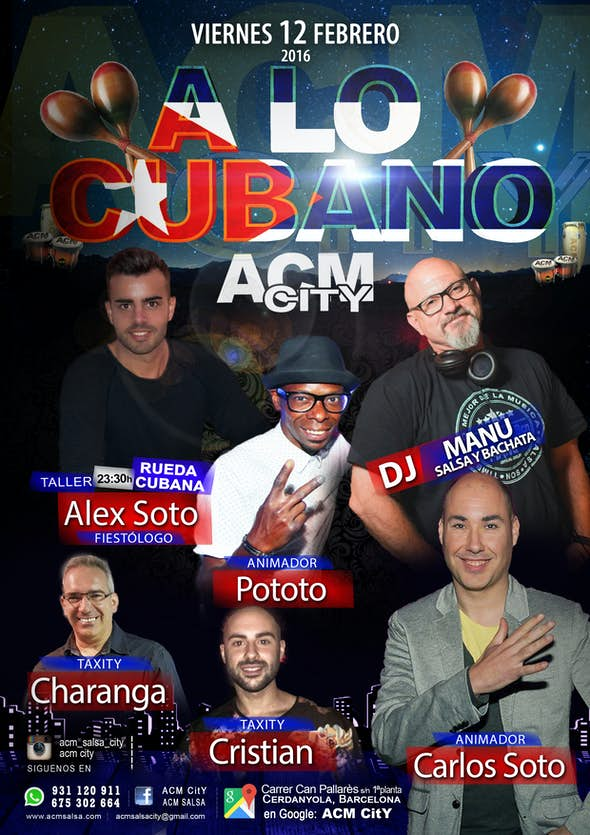 Friday: A LO CUBANO