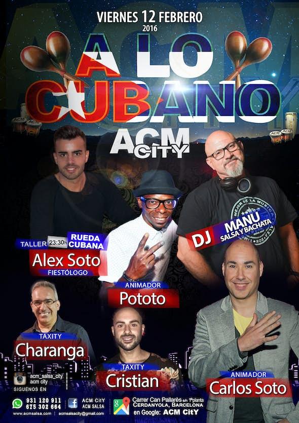 Viernes: A LO CUBANO