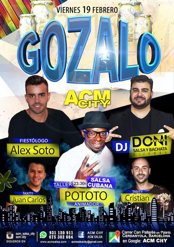 Friday: GOZALO