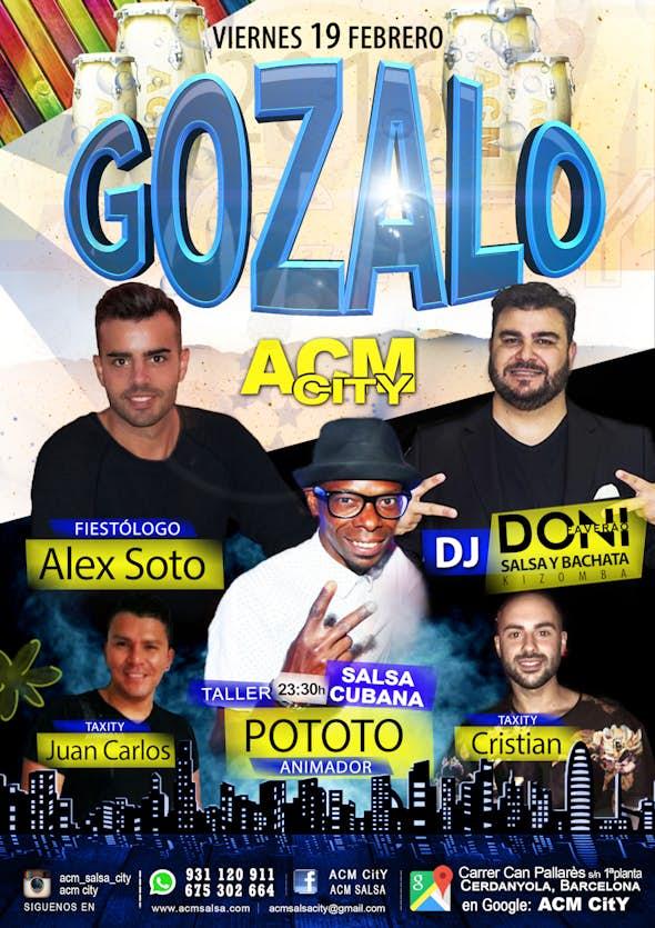 Viernes: GOZALO