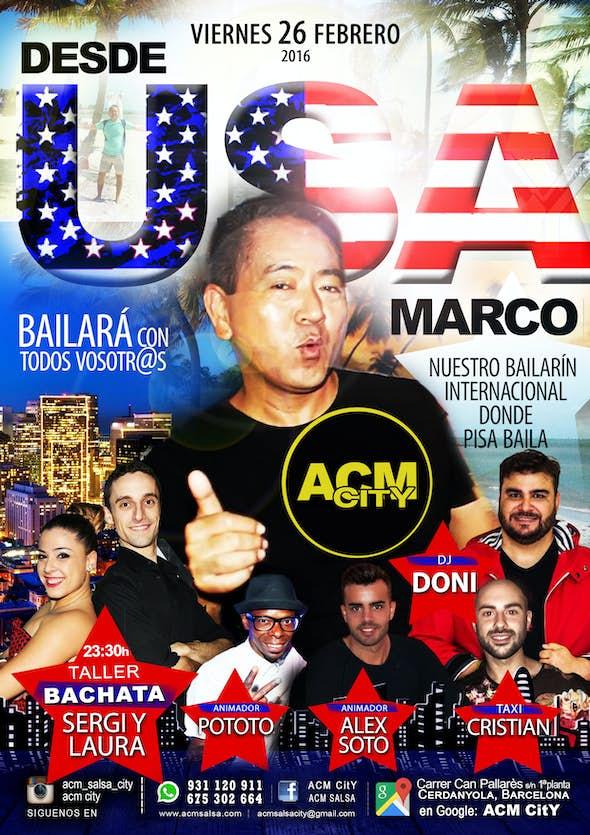 Viernes: USA ACM