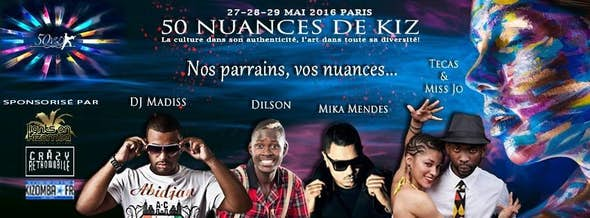 Festival 50 Shades of Kizomba 2016 - 50 Nuances De Kiz'