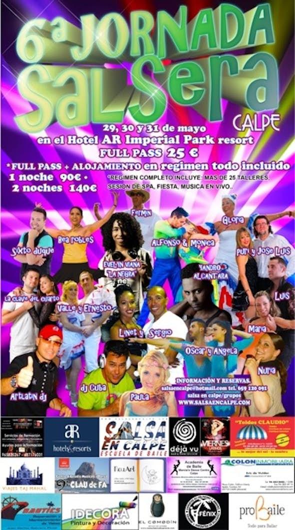 6ª Jornada Salsera en Calpe 2015
