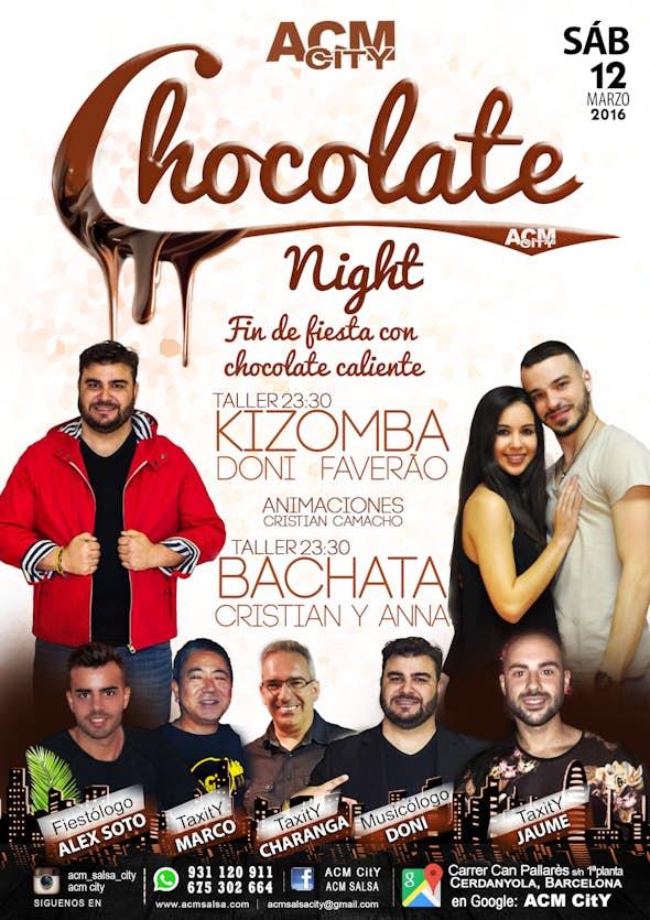 ···· CHOCOLATE NIGHT PARTY ····