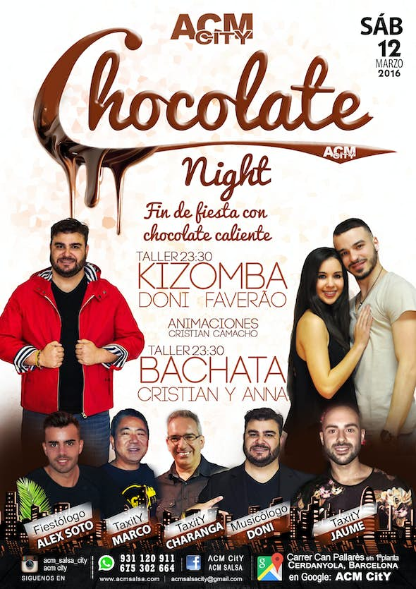 ···· FIESTA CHOCOLATE NIGHT ····