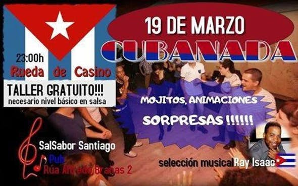 Free Workshop of Rueda de Casino and Cuban Party