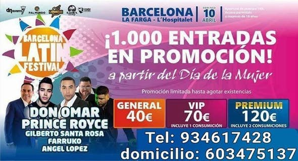 Barcelona Latin Festival La Farga