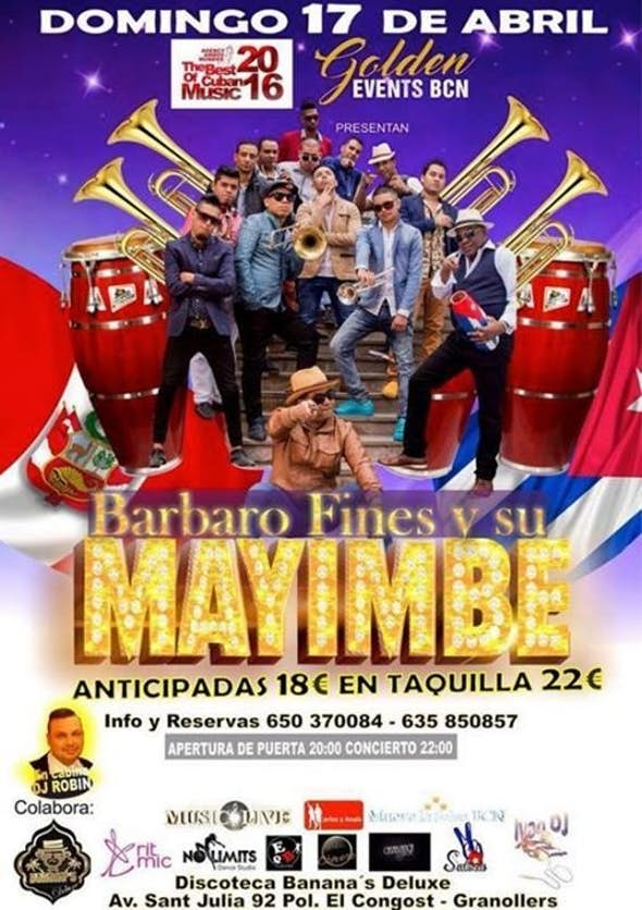 Barbaro Fines y su Mayimbe en Barcelona