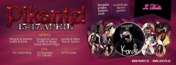 ★ Pikante! ★ EDITION 2016 by KONDE, April 15-17, Bratislava