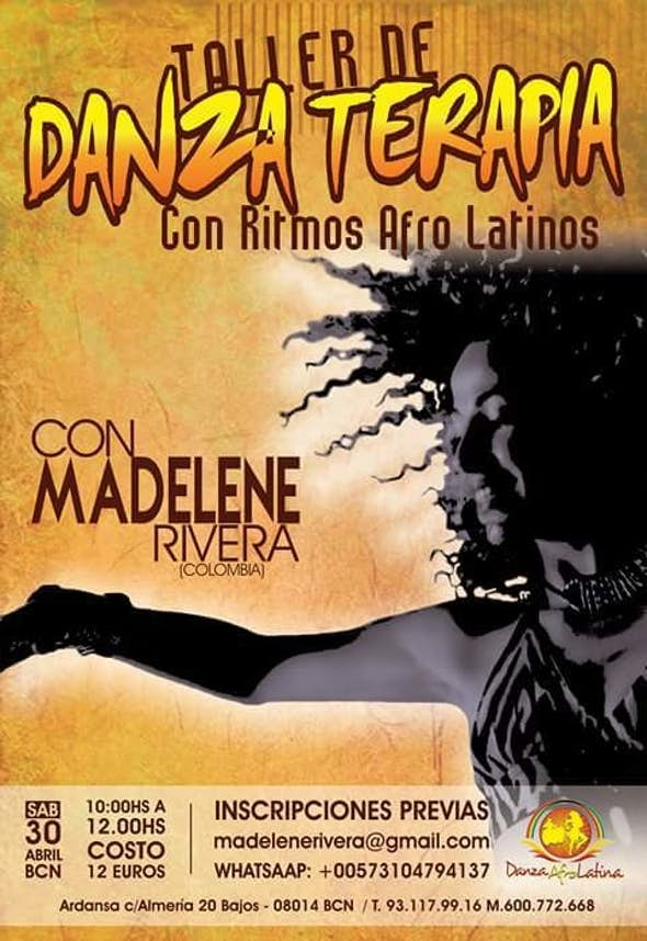 Dance Therapy Workshop With Afro Latin Rhythms in Barcelona