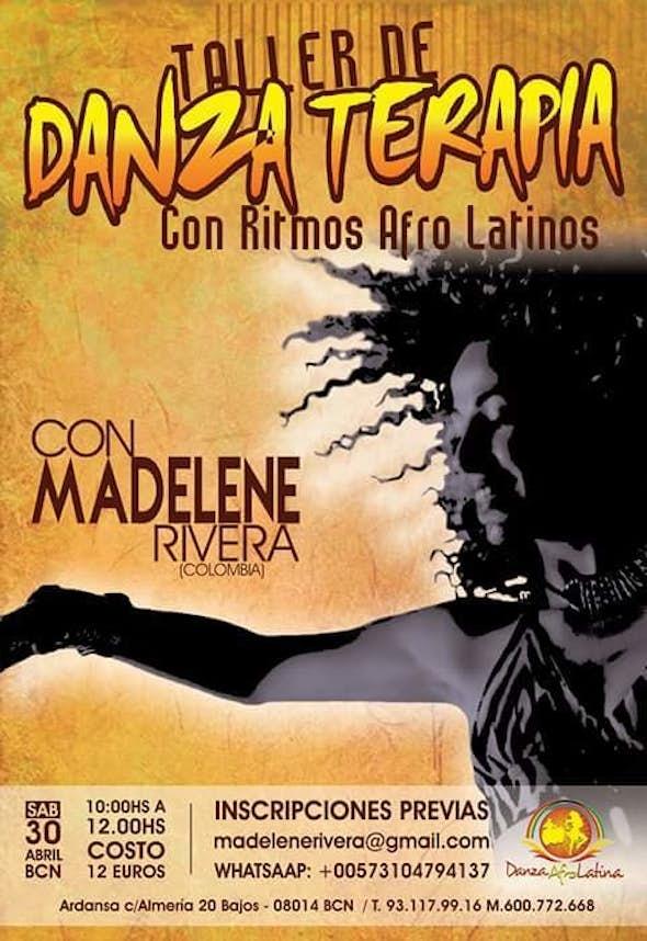 Taller de Danza Terapia Con Ritmos Afro Latinos en Barcelona