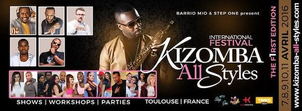 the KIZOMBA ALL STYLES festival 2016