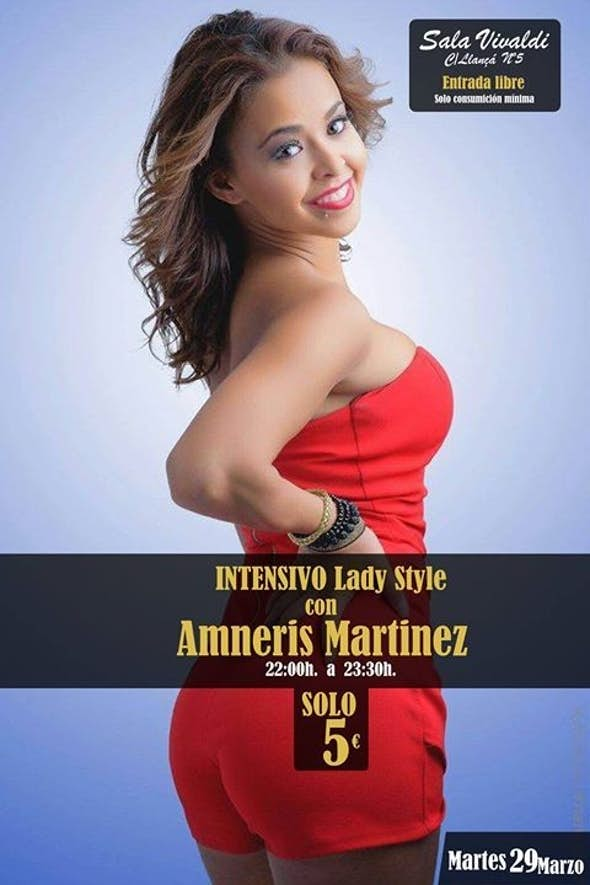 Bachata Lady Style Intensive Workshop by Amneris Martinez