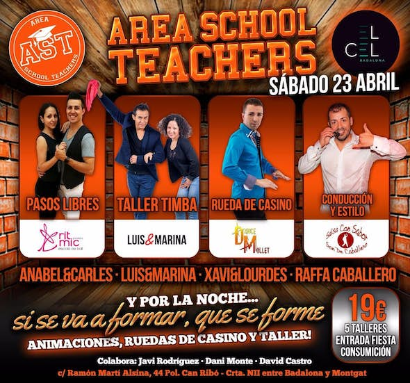 Area School Teachers at el Cel Badalona