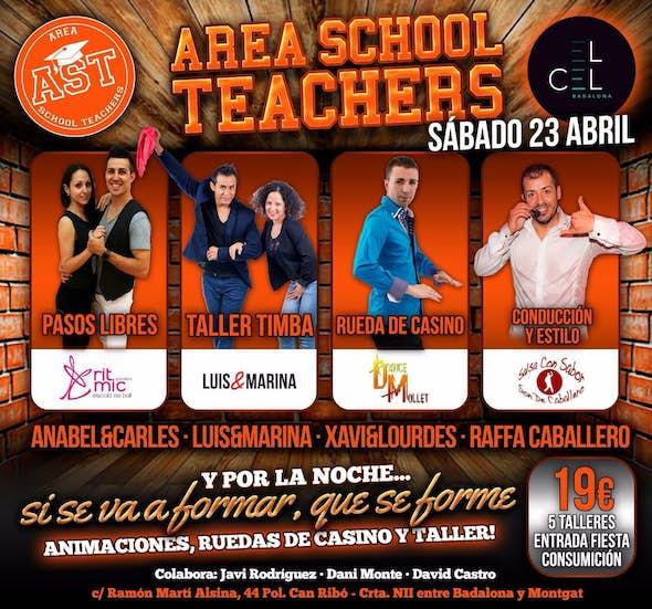Area School Teachers en el Cel Badalona
