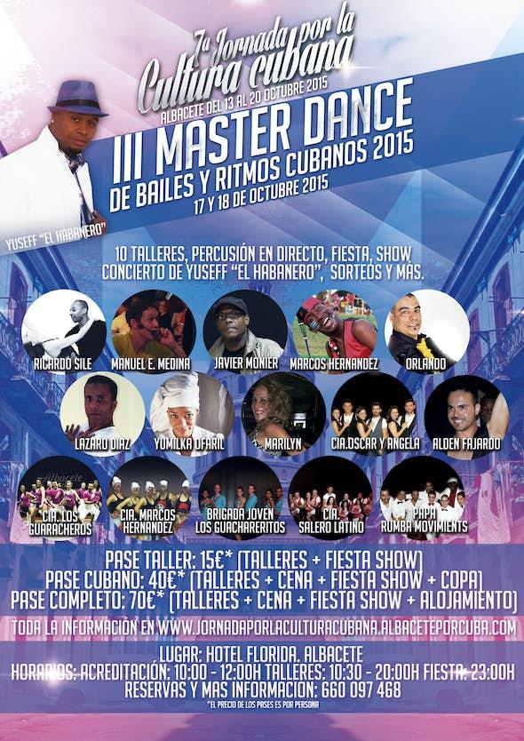 III MasterDance de Bailes y Ritmos Cubanos. Albacete 2015