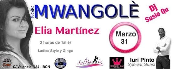 Taller para chicas de Kizomba Styling & Movement + fiesta