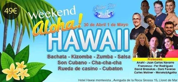 Salseros Azucarados en Weekend Aloha Hawai Salsa Fer