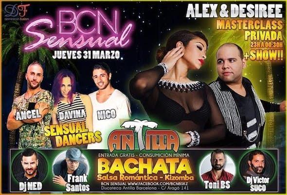 Thursday 31st March Bcn Sensual in Antilla