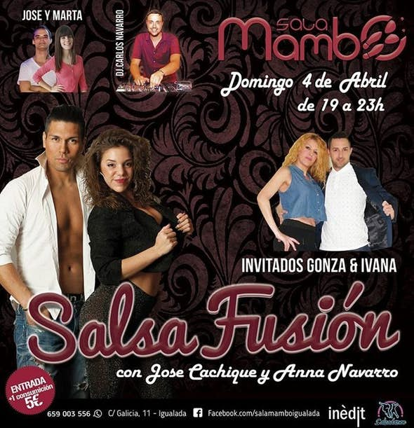 Jose Cachique and Anna Sunday 3rt In Sala Mambo Igualada By Inedit