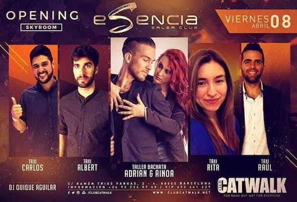 Esencia Fridays: Sesión Salsachata de los Viernes - Bachata Sensual: Adrian y Ainoa - Taxis y Dj Qui