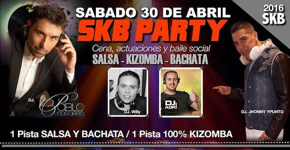 SKB PARTY VALENCIA! Salsa, Kizomba and Bachata