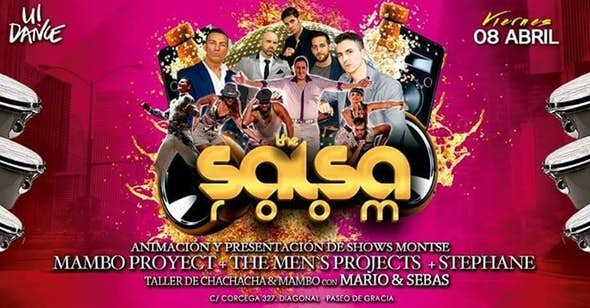 Mambo project at the salsa room!!!