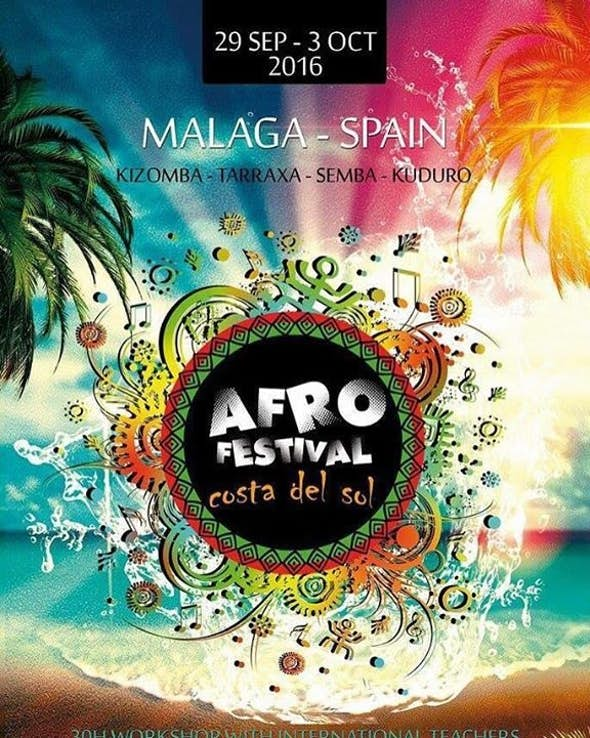 AfroFestival Costa Del Sol 2016 (3th Edition)