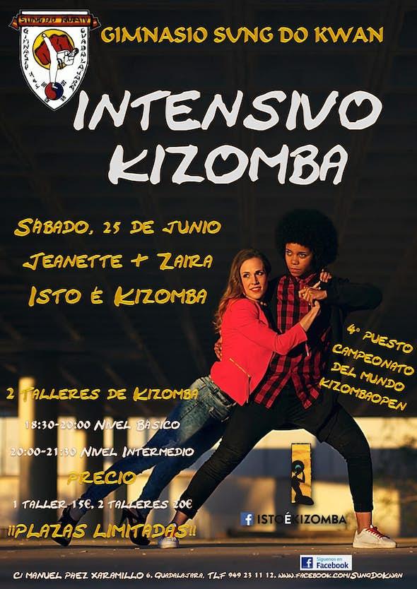 Kizomba intensive with Jeanette & Zaira (Isto è Kizomba)