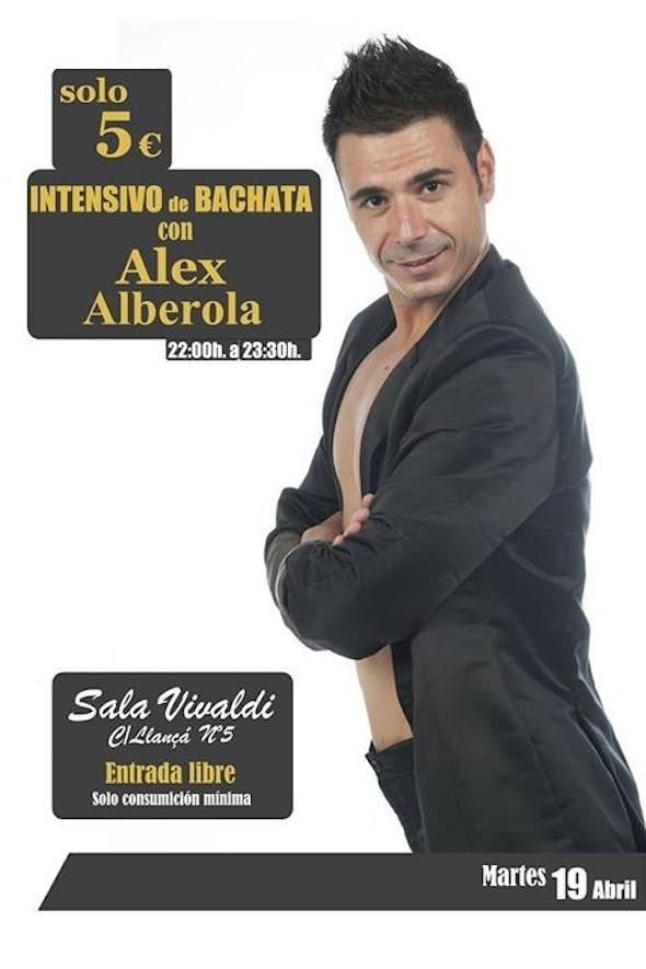 Intensive Workshop of Bachata by Alex Alberola and party
