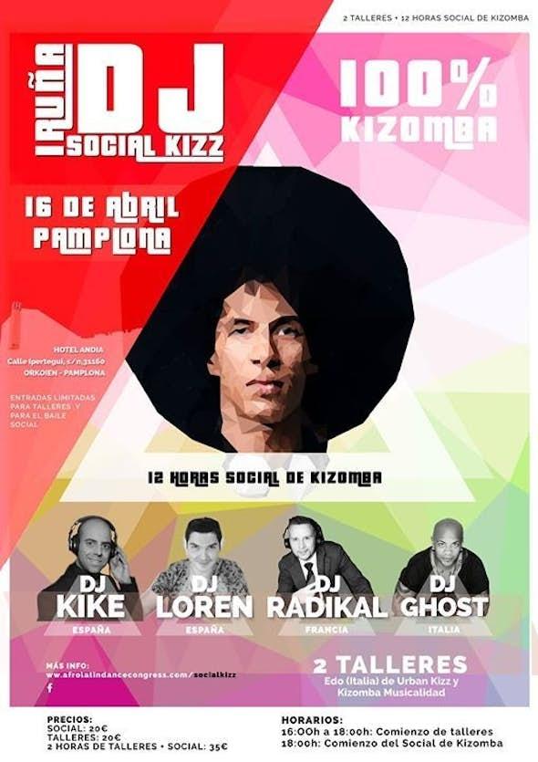IRUÑA SOCIAL KIZZ - 16 Abril 2016 (Pamplona)