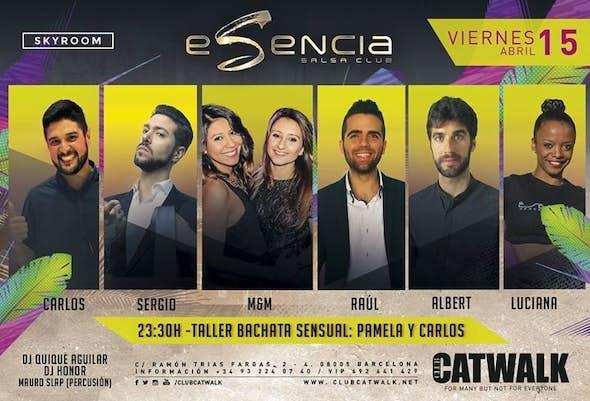 ESENCIA FRIDAYS - Workshop Pamela and Carlos - 15th April